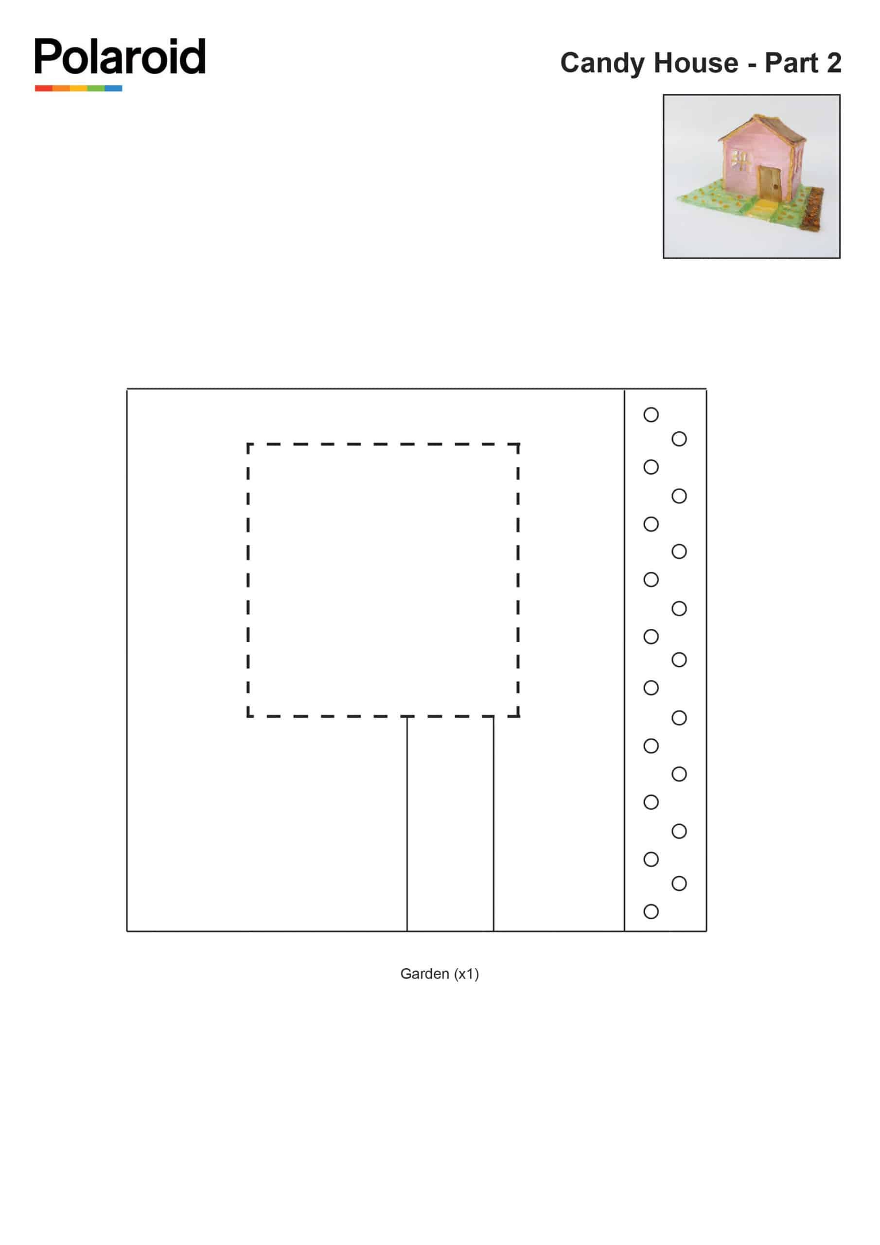 Candy Pen Stencil – House Pt.2