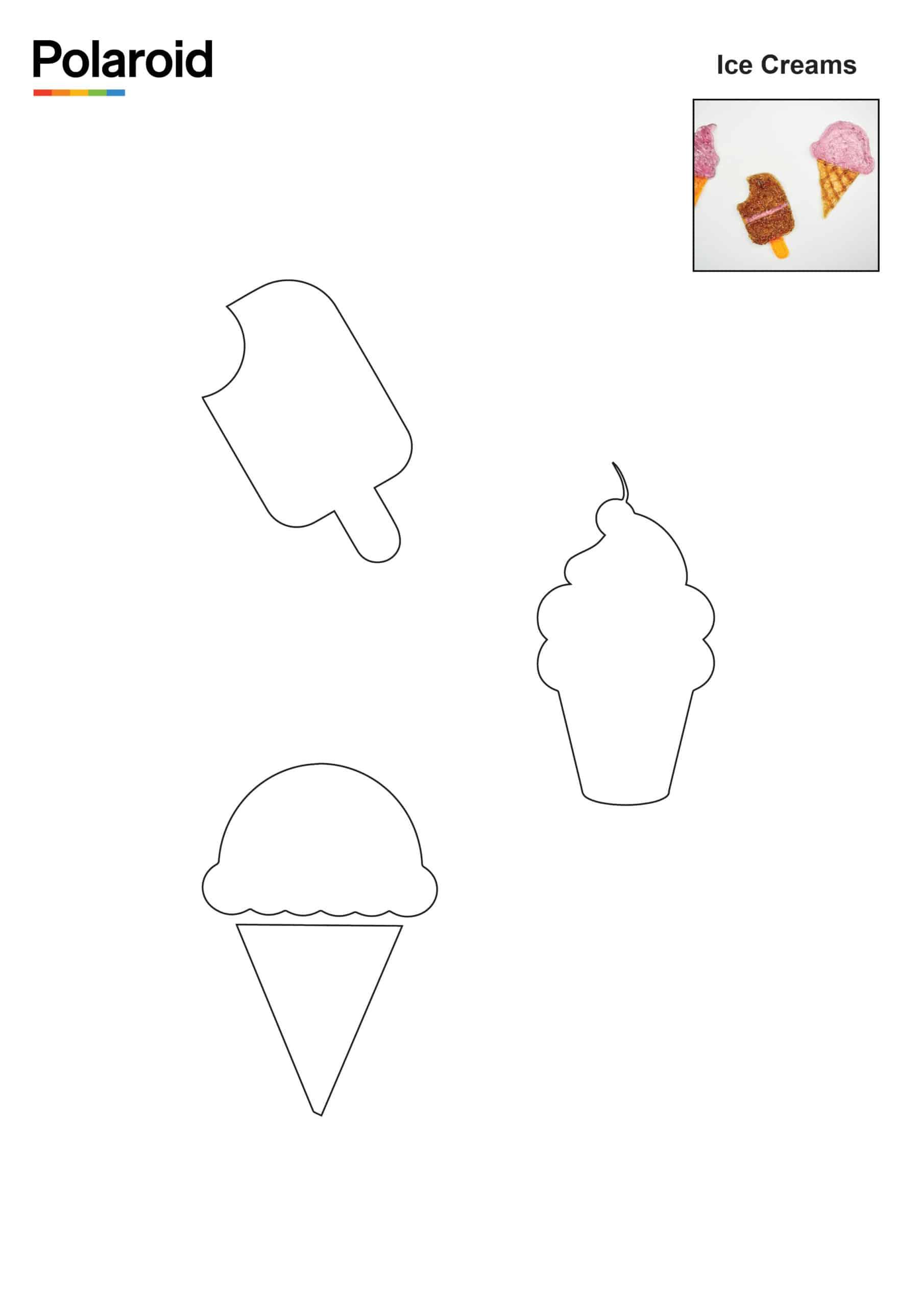 Candy Pen Stencil – Ice Creams