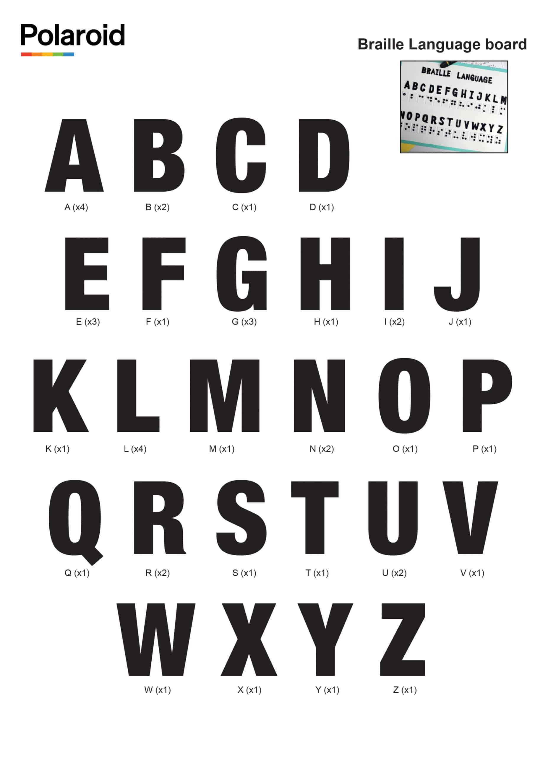 Braille language board_New Logo