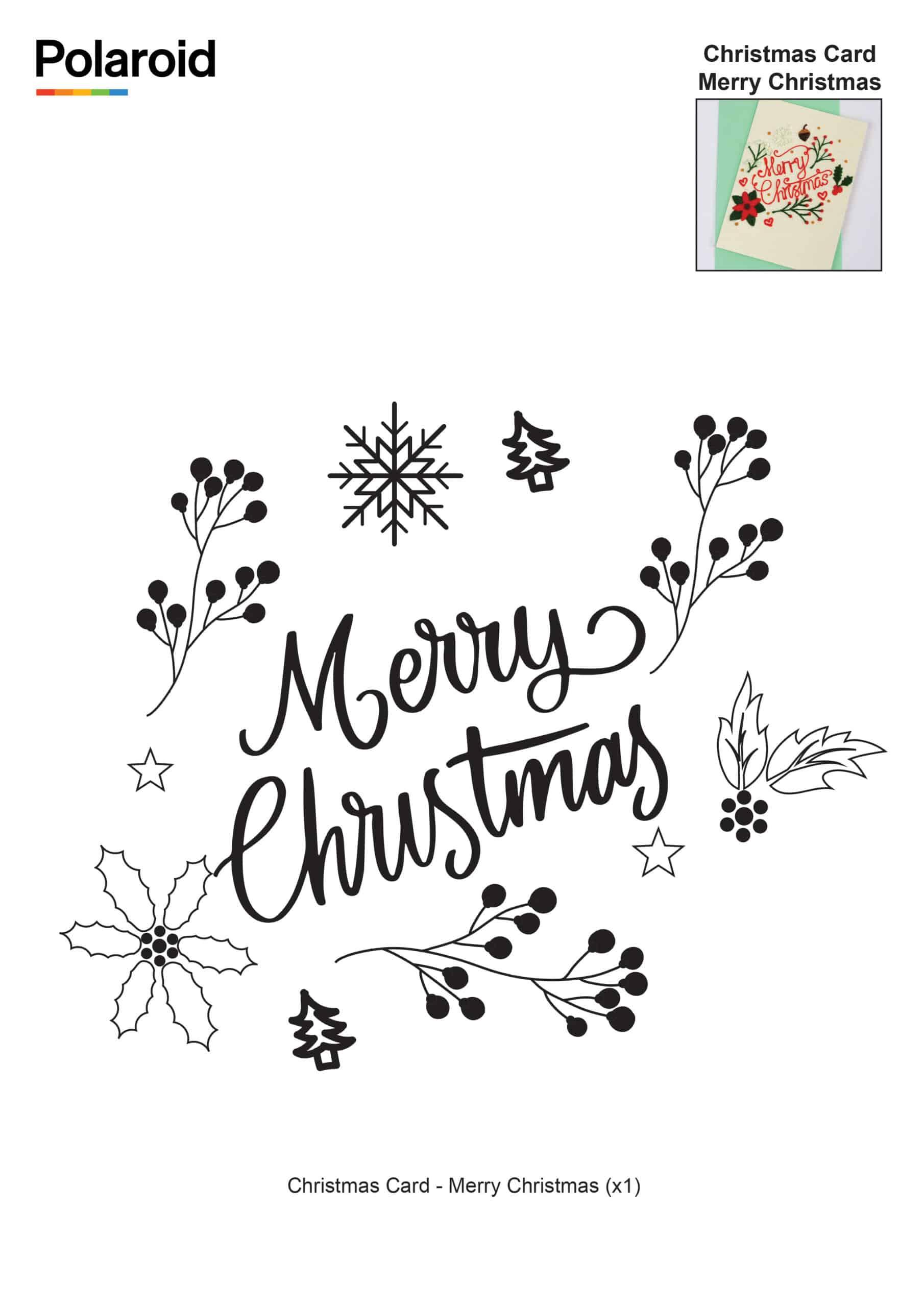 Christmas Card Merry Christmas_New Logo