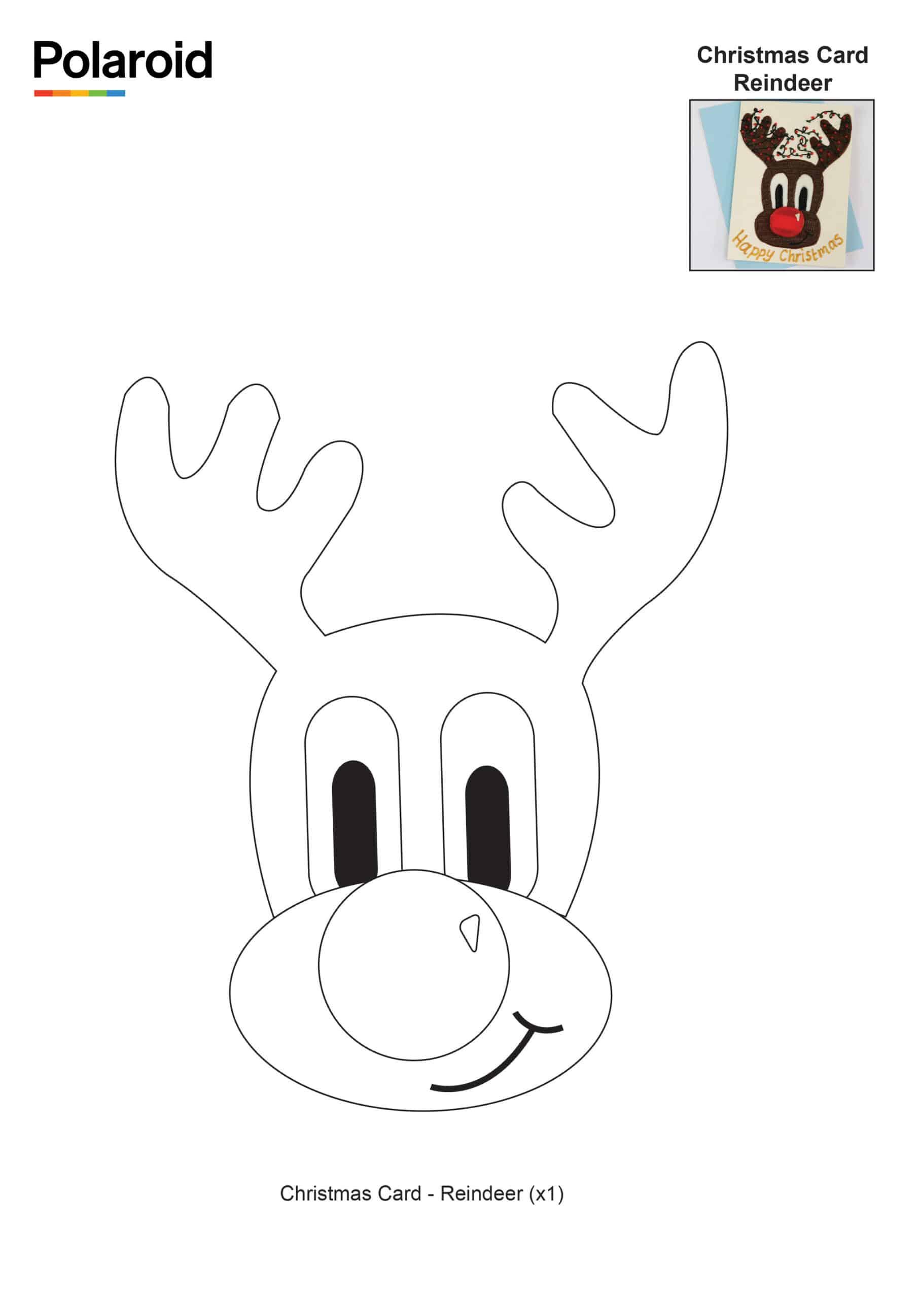Christmas Card Reindeer_New Logo