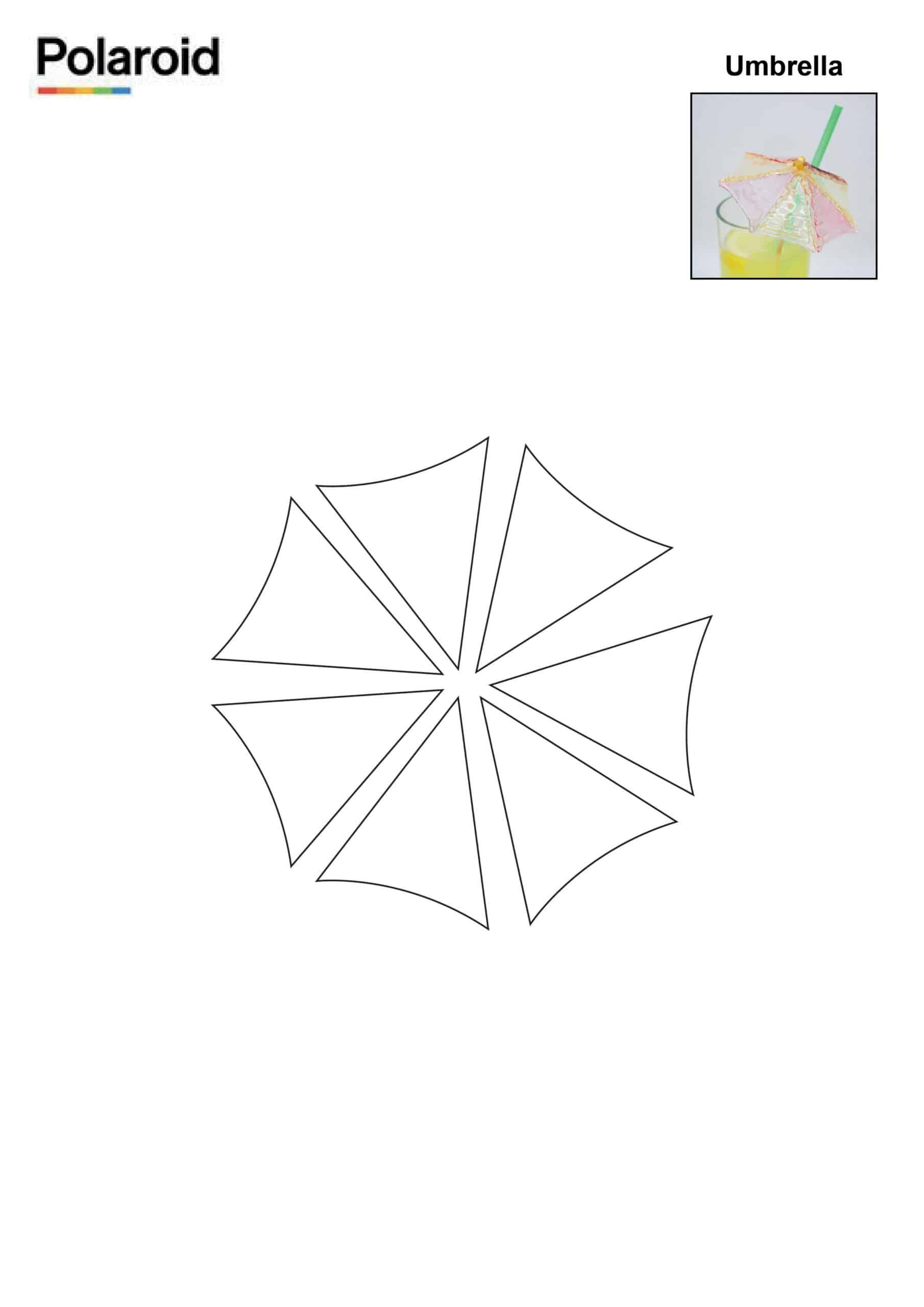 Candy Pen Stencil – Umbrella